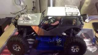 Axial wraith update new receiver and transmitter