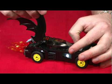 LEGO #6864 Batmobile and Two-Face Chase DC Super Heroes Set Review