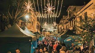 Navidad de luz, magia e ilusiones en  la Villa de Moya