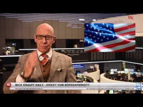 Donald Trump Könnte Für Die Börse Sogar Positive Folgen Haben! Mick Knauff´s Daily - 07.11.2016