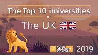 Meet The UK's Top 10 Universities 2019