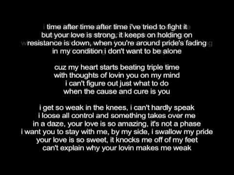 So weak strong lyrics