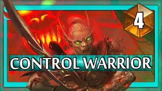 Hearthstone Control Warrior vs out of control mech Rogue #4