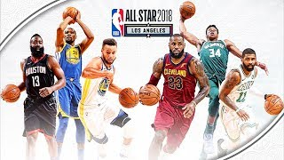 A la Une  AllStar Game 2018  Lebron James et Stephen