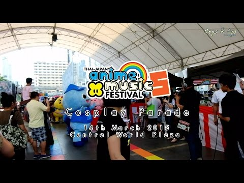 Cosplay Parade in Thai-Japan Anime & Music Festival #5 Day 1