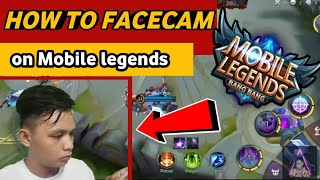 mobile legends FaceCam tutorial NO BACKGROUND