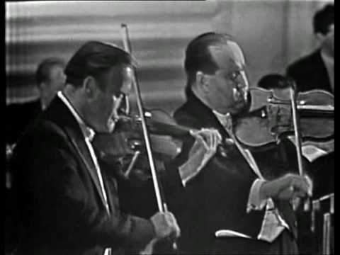 Yehudi Menuhin & David Oistrakh - Bach Double Violin Concerto in D minor - BWV 1043 - Vivace