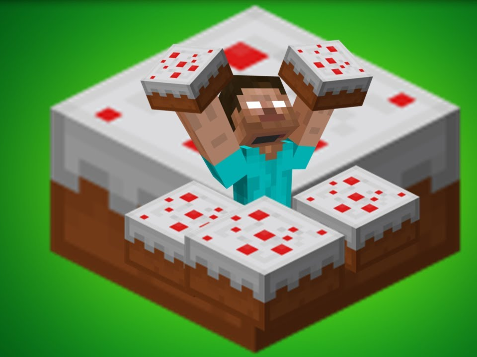 What Makes Cake Minecraft