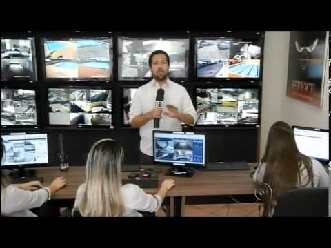 TV Tem mostra o sistema da Service Security