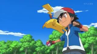Pokemon Anime Key Animation Before and after