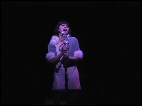 Jane Leeves singing Maybe This Time - Cabaret