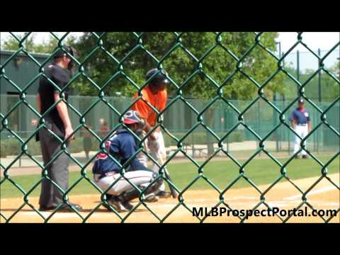 Delino DeShields Jr., Houston Astros 2B - Minor League Spring Training 2013