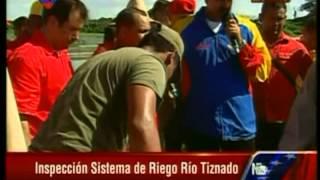 Maduro: Sistema de Riego Río Tiznado en Guárico ejemplo de producción en colectivo