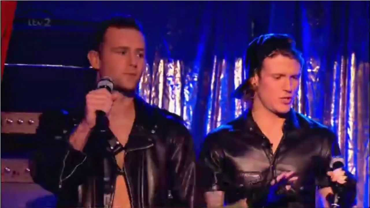 McFly's Dougie pops out of Harry Judd's pants on 'Celeb ...