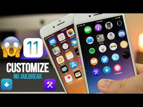 How to CUSTOMIZE Your iPhone, Stop Apps from Revoke, Change Icon Shape & More! iOS 11 - 11.1.2