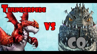 Thunderpede vs Catastrophic Quaken