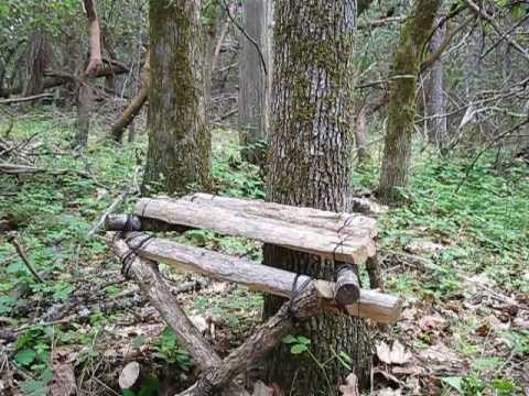 Bushcraft Camp Chair Making