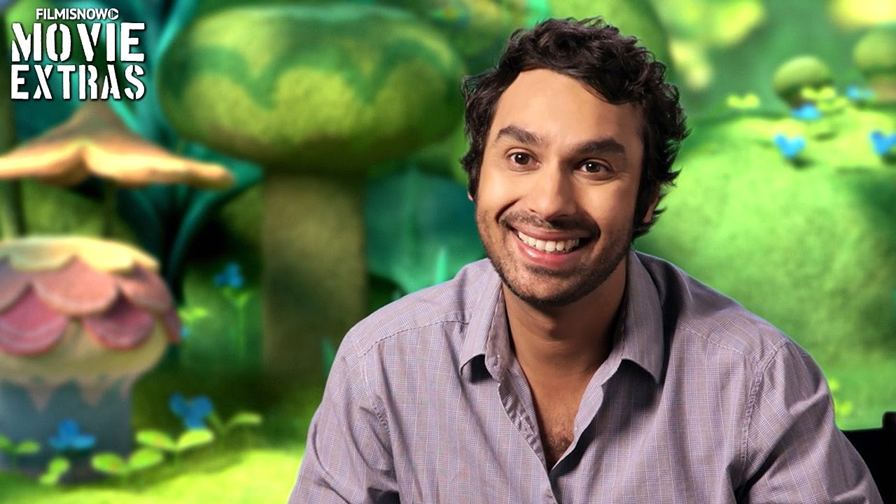 Trolls | On-set visit with Kunal Nayyar 'Guy Diamond'