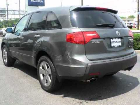 2007 ACURA MDX 4WD 4dr Sport/Entertainment Pkg   Maple Shade Camden NJ New Jersey