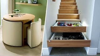 PERFECT SPACE SAVING IDEAS THAT EVERYONE WILL WANT
