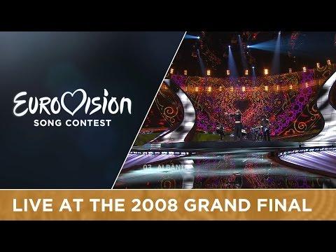 Olta Boka - Zemrën E Lamë Peng (Albania) Live 2008 Eurovision Song Contest