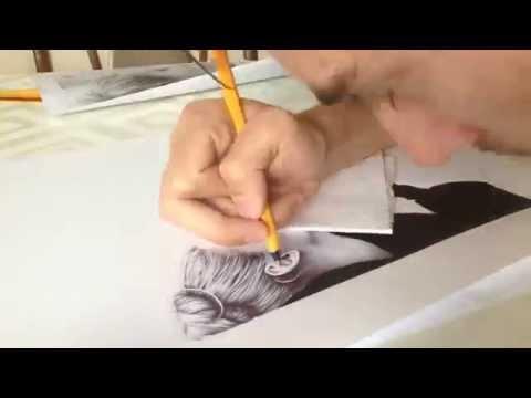 Ballpoint Pen Drawing (
