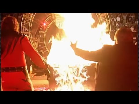 Kane burns The Undertaker: Royal Rumble 1998