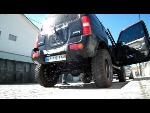 Suzuki Jimny - New Exhaust