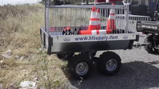 K&L Supply - New UTV & SxS All Terrain Trailer