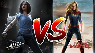 CAPTAIN MARVEL IS A SHAM! ALITA IS THE TRUE HERO WE'VE BEEN WAITING FOR!
