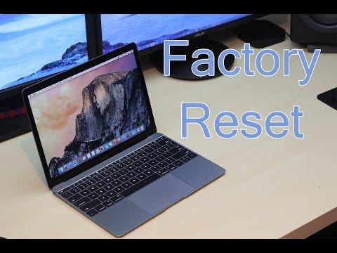 How to Factory Reset MacBook (2015 Method)