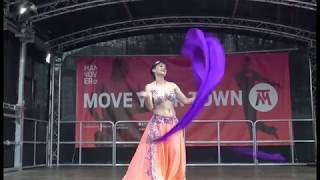 "Bellydance -Voi bei ""Move your Town"" Hannover 2018"