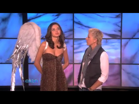 Ellen Teaches Supermodel Miranda Kerr How to be Sexy