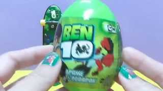 Ben 10 - Ben 10 Buildable Alien Heroes Ultimate Alien Creation Chamber Toys (Kinder Surprise Ben 10)