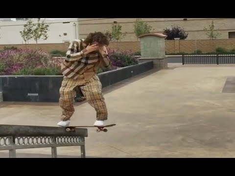 INSTABLAST! - NO LOOK BS TAILSLIDE HANDRAIL!! Bs 360 Late Back Foot Flip!! HUGE Wood Rail Battle!!