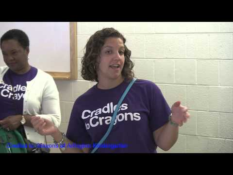 Cradles To Crayons at Community Day Arlington Kindergarten School