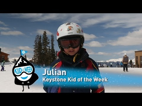 Keystone Kid of the Week - Julian!
