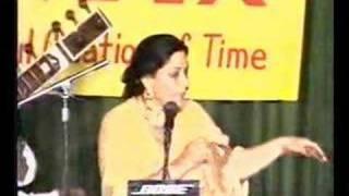 Iqbal Bano sings Nasir Kazmi - Tere Khyal se