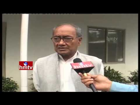 Digvijay Singh Face to Face Over D Srinivas Quits Congress | HMTV