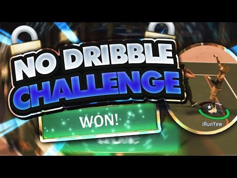 NBA 2K17 No Dribbling Challenge | How To Win MyPark Games Without Dribbling