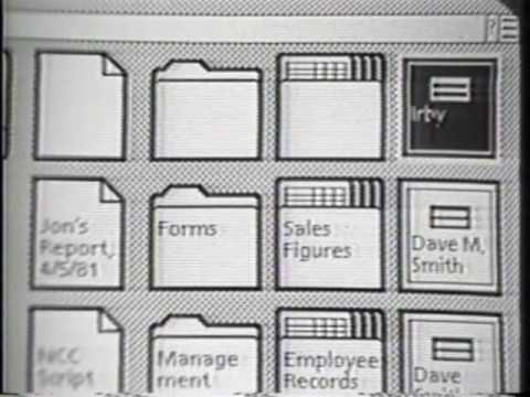 Thumbnail of video Xerox Star User Interface (1982) 1 of 2