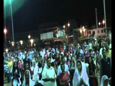 Narkis de garcias cantando en el nombre de JESUS  concentracion LUZ DEL MUNDO BARCELONA venezuela