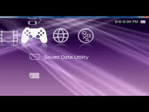 psp clear XMB ctf theme for 6.60 pro-b10
