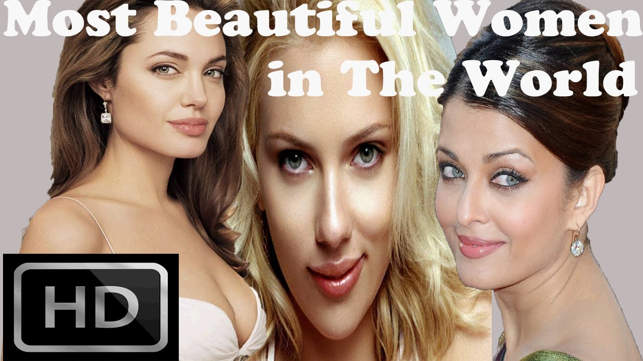 Top 10 most beautiful women in the world youtube for The woman in number 6