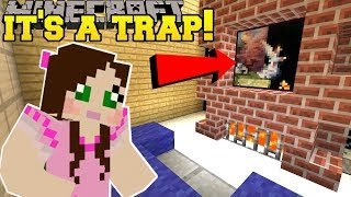 Minecraft: THIS PAINTING IS A TRAP!!! - A HOLE NEW WORLD BOOK ANNOUNCEMENT! - Custom Map