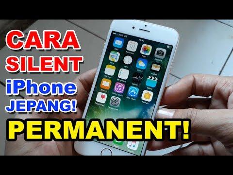 Cara Silent Kamera iPhone Jepang PERMANENT!