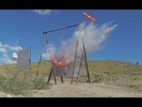 Long Range Shooting - 1000 Yard Milk Jug Challenge #4 - 338 Lapua Magnum Israel R. 4 shots