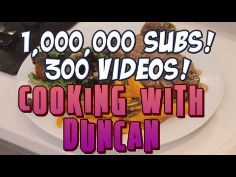 1,000,000 Subs! 300 Videos! Cooking with Duncan!