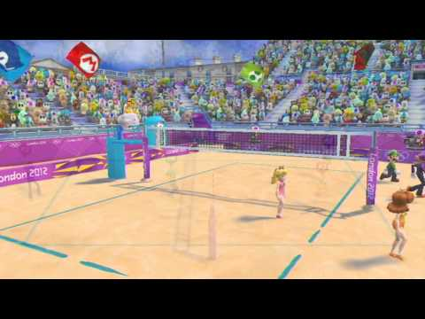 Mario and Sonic at the London 2012 Olympic Games: Part 8 - Beach Volleyball
