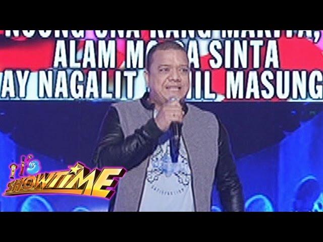 """It's Showtime Singing Mo To: Mitoy Yonting sings """"Minahal Kita"""""""